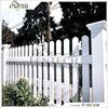 Hot sale Customized Fentech high Quality Elegant PVC White Yard Guard Fence