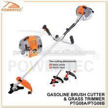 POWERTEC 52CC 1700W 2-Stroke Brush Cutter and Grass Trimmer PTG08B