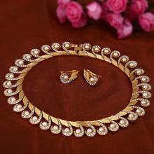 India 22 K Gold Kundan Necklace Set Wholesale