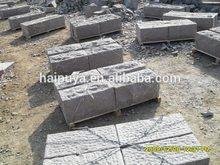 G354 red granite wall stone block