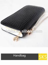 Women Fashion PU Leather Wallet Zip Around Case Purse Lady Long Money Cellphone Carrying Storage Case Handbag Bag