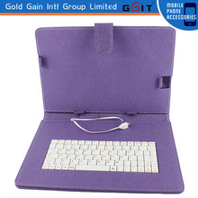 For iPad 2 3 4 5/air Leather Case + Bluetooth Wireless Keyboard case
