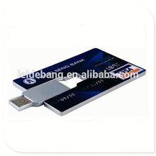 Alibaba china supplier business card usb flash drive card type usb flash drive