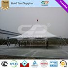 Discount price Classic style Arabic Majlis Steel Pole tent 12x12m