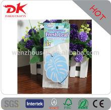 Custom die cut shaped paper air freshener for car/Custom car perfume paper making/air freshener for car/perfumes and fragrances