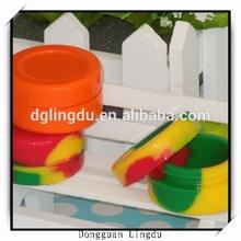 Silicone jars dab wax container,butane hash oil silicone container,Silicone container