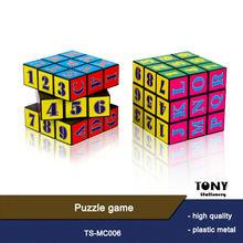 Good Quality Custom Plastic Magic Cube Toys