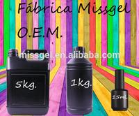 Fabrica directa Profesional-Aprovecha las Ofertas de geles con tu propia marca!!!! 444 Colores de gel polish