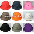 cheap fashion cotton plain bucket hat wholesale