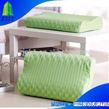 Luxury green anti-bacterial fiber Custom massage B shape pillow