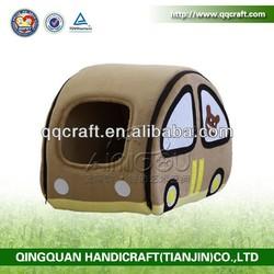 liwen wrought iron dog bed & wooden pet house & cardboard cat house