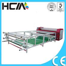 High speed sportswear/towel etc roller style heat transfer machine
