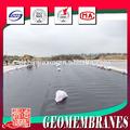 geomembrana de polietileno de alta densidad de revestimiento del estanque de impermeabilización