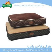 Check Print Orthopedic Royal Comfortable Dog Bed Luxury