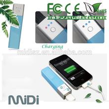 Mini Easy Take Hot Selling 2600mah LED Portable Power Bank External Battery Pack Charger 2600mah LED Power Bank for Mobile Phone