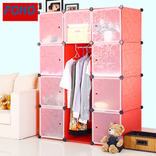Decorative Pretty Home Furniture Type and Red Color Wardrobes Bedrooms