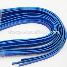 Colorful PU leather belt, 8mm slide charm belt for bracelets