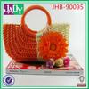 2014 new design high quality ladies fashion beach bag