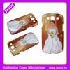 JESOY 3D Sublimation phone case for samsung galaxy S3,3D sublimation blank phone case