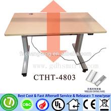 London office furniture& Essen-Dusseldorf office furniture wireless control height adjustable desk in metal