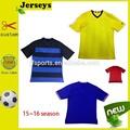 El servicio del oem de entrenamiento de fútbol jersey, en blanco uniforme del fútbol