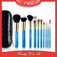 MSQ 10 pcs cosmetic brush Fashionable Makeup Tool