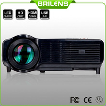 Susan Shi CL1280A Brilens Built in android 4.2 system 4cores CPU wireless wifi home proyector 720p supprot 1080p LED projector