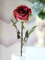 rosa artificial flores de la boda para oficina y hogar