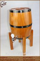 Hot sale used wooden wine barrel