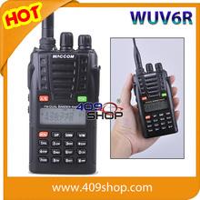 WACCOM WUV6R Ham radio DUAL BAND Handheld Radio