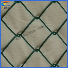 Wholesale Professional grass green chain link fence
