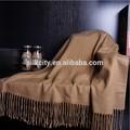 100% pura lana de atención al cliente al bufanda mantón de pashminas
