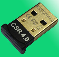 promotional made in china bulk CSR4.0 Bluetooth dongle with CD( OEM/ODM)