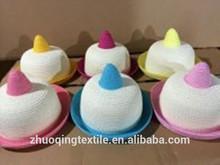 Lovely lady beach hat Parent-child cap