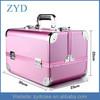 professional vanity makeup cosmetic train box Aluminum cosmetic box
