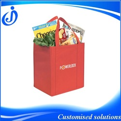 2014 Best Selling Wholesae Custom Made Promotion Non Woven Shopping Bag