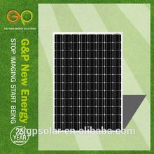 bifacial cell panel solar mono 240w with CE/CEC/TUV/ISO