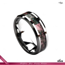 tungsten ring, fashion camo men tungsten wedding rings,latest design mens tungsten ring VJR-018