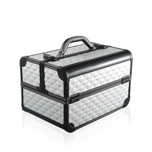 Fashion Aluminum+ABS Jewelry Box Case