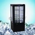 4 lado coolers porta de vidro