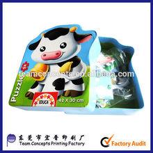 Wholesale Chinese Printed Carton Puzzle Box