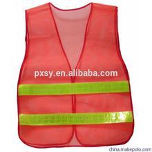 Mesh Pocket Motorcycle Reflective Safety Vest