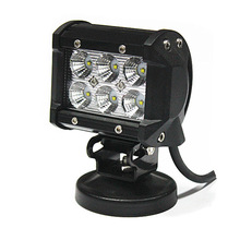 Hot sale mini work lights 12v, aluminum housing led bars IP67, 18w led light bar