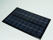 Customized design 260x180mm 6v 5w low price mini poly solar panel frameless for industrial use