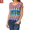 Custom design t shirt woman fashion 2014 cheap