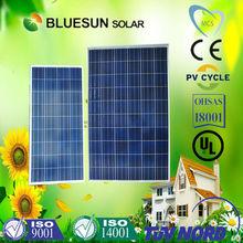 Bluesun polycrystalline 12v home use solar panel 150w