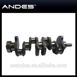 Auto Engine Parts Cast Iron Crankshaft For 4JB1/493Q Crankshaft
