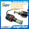 For BMW angel eyes cree led headlights, canbus error free universal CCFL COB RGB SMD ring angel eyes auto car accessories