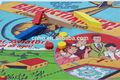 Planche de bois pion de jeu pièces/conseil double face de jeu