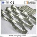 ligero de aluminio decorativas del techo placas